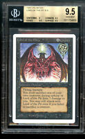Lord of The Pit UNLIMITED BGS 9.5 GEM MINT Magic MTG