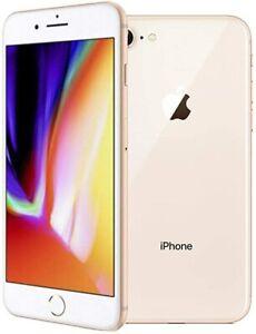 Apple iPhone 8 64GB 256GB GOLD Factory Unlocked CDMA/GSM/LTE Warranty Global OB
