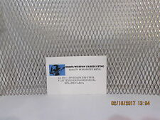 "1/2 X #16 FLATTENED EXPANDED METAL-----12"" X 24""--304 STAINLESS STEEL"