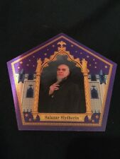 Harry Potters Salazar Slytherin chocolate frog card