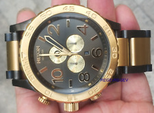 Nixon New Watch  A083-595 A083595 Mens 51-30 CHRONO Gunmetal & Gold