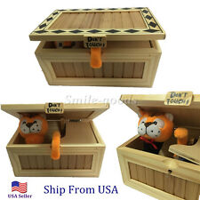 Useless Box Leave Me Alone Box Most Useless Machine Don't Touch Tiger Toy US