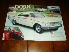 1963 FORD GALAXIE 427 FACTORY LIGHTWEIGHT RACE CAR   ***ORIGINAL 2005 ARTICLE***