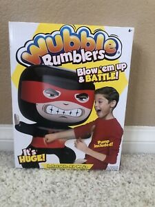 WUBBLE Ball Rumblers AIR NINJA Inflatable Blow Up & Pump Included