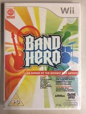 SEALED NEW Nintendo Wii PAL VERSION Region BAND HERO Video GAME ONLY pop NOT-USA