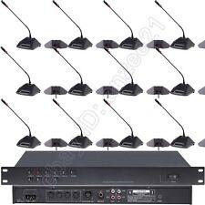 New U350 18 Desktop Classical Digital Audio Conference Meeting Microphone System