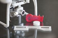 DJI Phantom 2 V+ Flight Kit RED - Lens Cap - Gimbal Lock & Guard 3d printed