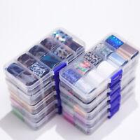 10Stk/Box Holographisch Nagelfolie Nail Art  Sky Nagelsticker Nail Foils