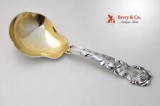 Cherry Grape Serving Spoon Gorham Silversmiths Cast Sterling Silver 1905