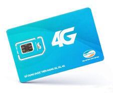 Activated Vietnamese Prepaid Micro Sim Card + Phone Number 4G Internet Viettel