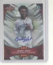 Buddy Reed auto card /100 2019 Bowman Chrome Arizona Fall League Stars Padres