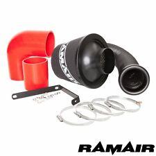 Kit de admisión de filtro de aire Ramair VW Golf R32 mk5, Audi TT A3 3.2 V6 rojo
