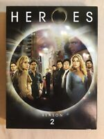 Heroes Season 2 S2 DVD 4-Disc Set TV Show Box Set SciFi