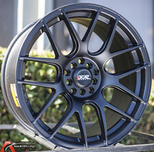 18x8.75/9.75 XXR530 5x100/114.3 +20 Flat Black Wheel Fits Ford Mustang 350Z 370Z