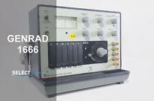 General Radio Genrad Dc Resistance Bridge Genrad 1666 Look Ref G