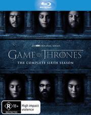 Game of Thrones - Season 6 Blu-Ray [New/Sealed] Region B