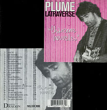 """PLUME LATRAVERSE  """"chansons nouvelles"""""""