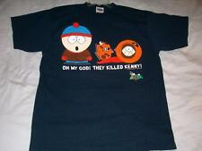 South Park OMG They Killed Kenny 1997 Comedy Central Black Tshirt Mens XL used