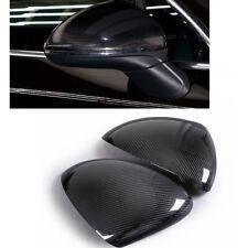 Carbon Fiber Side Mirror Cap For Porsche Cayenne 2015 2016 2017 Add On A