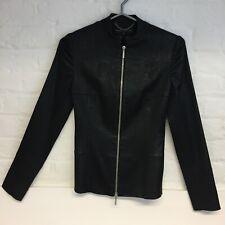 Banned Retro Medusa Slither Crop Biker Snake 80s Vintage Zip Alternative Jacket