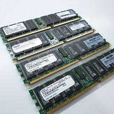 Lot of x4 MIX Samsung HP A6970AX 2Gb DDR DIMM RAM Memory Server 8GB