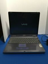 Vintage Laptop computer Sony Vaio Laptop PCG-XG19 - no disk drive - WORKS - 1998