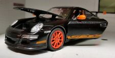 G 1:24 Scale Black Porsche 911 Turbo 997 Detailed Welly Diecast Model Car GT3 RS