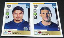 97 98 BOCA JUNIORS PALACIOS CALLERI ARGENTINA PANINI FOOTBALL FIFA 365 2015