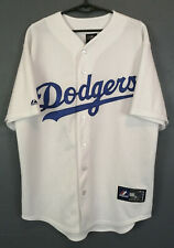RARE MEN'S BASEBALL LOS ANGELES DODGERS MAJESTIC MLB SHIRT JERSEY MAILLOT SIZE M