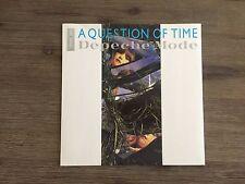 "Depeche Mode – A Question Of Time EP 12"" UK Mute – 12 BONG 12"