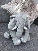 "12"" IKEA KLAPPAR GREY ELEFANT ELEPHANT SOFT TOY Plush"