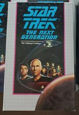 Star Trek The Next Generation Collector's VHS: Encounter at Farpoint Part 1 & 2