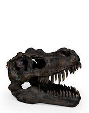 Resin T-Rex Skull Medium , Tyrannosaurus rex repro Skull T-Rex Statue Resin