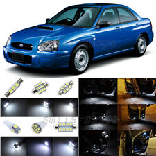 5pcs White LED Interior Lights Package Fit For 2002-2003 Subaru Impreza WRX STI