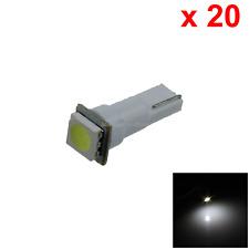 20x White Car T5 Neo Wedge Light Lamp 1 Emitters 5050 SMD LED 70 73 74 B001