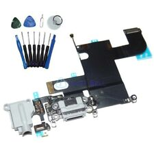 """OEM Original Charger Dock Charging Port Mic Flex Cable For iPhone 6 4.7"""" Gray US"""