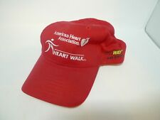 American Heart Association Red Hat Cap Heart Walk SubWay Advertisitng