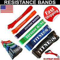Resistance Bands Loop Trainer Pull Up Body Exercise Fitness Home Gym Workout Set