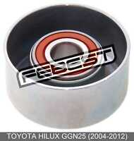 Pulley Tensioner For Toyota Hilux Ggn25 (2004-2012)