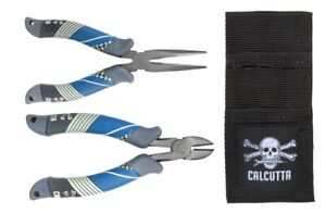 """Calcutta CSC6CRKIT Squall Torque Series Pliers Kit 6"""" Long Nose and 6"""" Cutters"""
