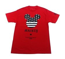 NEFF Mickey Mouse T-Shirt sz Large Red