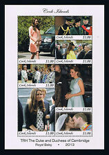 Cook Islands Postage Stamp – Birth of Prince George – William & Kate's Baby
