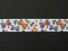 "butterfly grosgrain ribbon 7/8"" per 1 m hair scrapbooking card making"