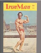 IRONMAN bodybuilding muscle magazine/ PAT NEVE & DAVE JOHNS 1-75