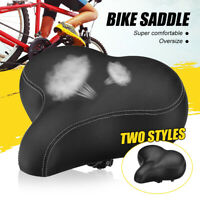 Wide Big Bum Bike Bicycle Gel Cruiser Extra Comfort Cover Soft Pad Saddle Seat