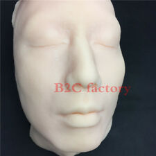 Silicone Head Injection Skin Suture Plastic Surgery Teaching Model With Skeleton