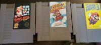 Mario Bros 1, 2, & 3 NES Nintendo. 2 orginal nes sleeves