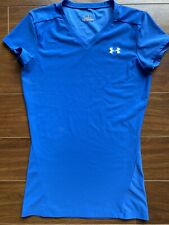 Under Armour Blue Short Sleeve Youth Fitted Medium
