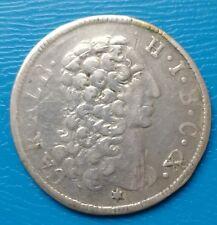 30 Kreuzer 1/2 Gulden 1731 Karl Albrecht Bayern Silber Münze sehr schön ++