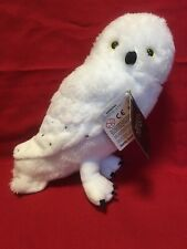 """Harry Potter Hedwig 7"""" Medium Owl Animal Plush Officially Licensed NWT Ages 3+"""